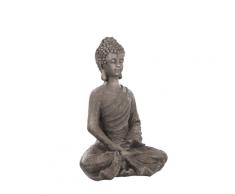 Scultura da giardino Buddha grigia KATORI