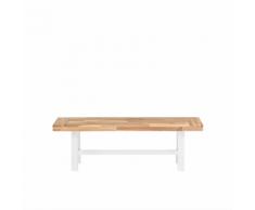 Panchina in legno bianco marrone SCANIA