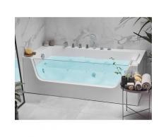 Vasca idromassaggio angolare 170 cm versione destra bianco PUQUIO