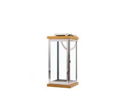 Lanterna in legno argento / BORNEO