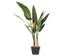 Pianta artificiale in vaso 115 cm STRELITZIA TREE