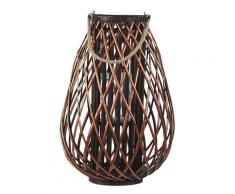 Lanterna in legno marrone 60 cm KIUSIU