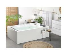 Vasca da bagno freestanding bianca SAONA