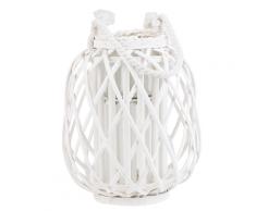 Lanterna bianca 30 cm MAURITIUS