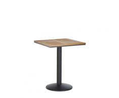 Tavolo da balcone 60 x 60 cm in legno chiaro PALMI