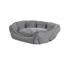 Cuccia in fibra di lino grigio 65 x 50 CANDIR