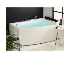 Vasca da bagno con idromassaggio sinistra SERRANA