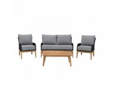 Set di mobili da giardino grigio MERANO