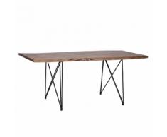 Tavolo da pranzo 200x100cm marrone MUMBAI