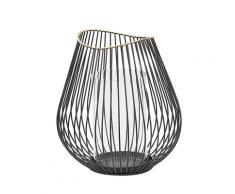 Lanterna in metallo nero THURSTON