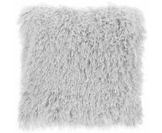 Cuscino decorativo 45 x 45 cm grigio chiaro CIDE