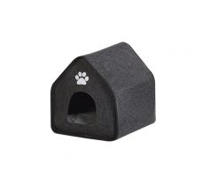 Cuccia per cani in feltro grigio 40 x 40 cm JANGI
