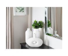 Vaso decorativo bianco XANTHOS
