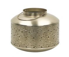Lanterna decorativa color oro vintage 22cm CORFU