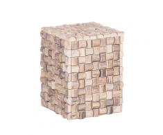 Comodino in legno chiaro CAJEME