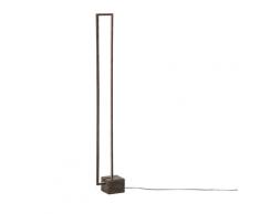 Lampada da Terra Minimalista 150 cm Legno Chiaro ROKEL