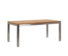 Tavolo da giardino legno di teak 180x90 cm GROSSETO