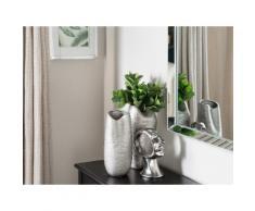 Vaso decorativo color argento APAMEA