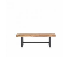 Panchina in legno nero marrone SCANIA