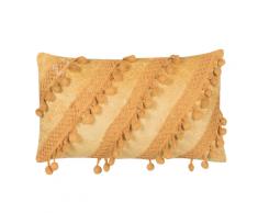 Cuscino decorativo 30 x 50 cm giallo AYROOR