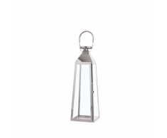 Lanterna argento 42 cm CRETA