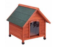 Set Cuccia per cani Spike Comfort e Isolamento - L 112 x P 96 x H 105 cm