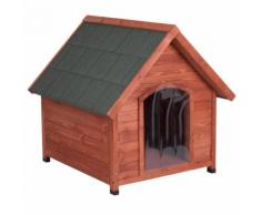 Cuccia per cani Spike Eco 365 con porta e isolamento - L 101,4 x P 109,5 x H 107 cm