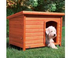 Cuccia per cani Trixie Natura con tetto piatto - Tg. S-M: L 85 x P 60 x H 58 cm