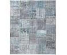 Annodato a mano. Provenienza: Turkey Tappeto Patchwork 252x301 Tappeto Moderno