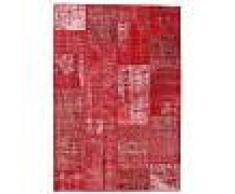 Annodato a mano. Provenienza: Turkey Tappeto Patchwork 161x231 Tappeto Moderno