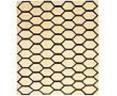 Annodato a mano. Provenienza: Persia / Iran Tappeto Loribaft Persia 234x266 Tappeto Moderno