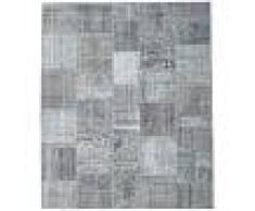 Annodato a mano. Provenienza: Turkey Tappeto Patchwork 252x302 Tappeto Moderno