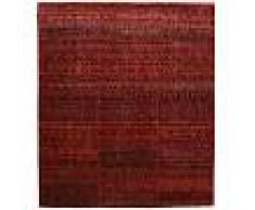 Annodato a mano. Provenienza: India Tappeto Sari puri di seta 253x294 Tappeto Moderno
