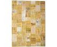 Annodato a mano. Provenienza: Turkey Tappeto Patchwork 272x371 Tappeto Moderno