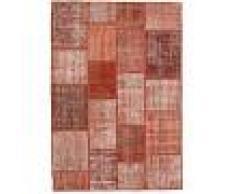 Annodato a mano. Provenienza: Turkey Tappeto Patchwork 139x202 Tappeto Moderno