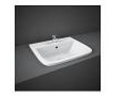RAK CERAMICS Lavabo da Incasso Rak Ceramics SERIES 600 500x425mm Bianco Alpino