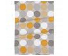 Maisons du Monde Strofinaccio in cotone motivi grafici, 50x70 cm