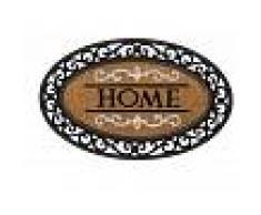 La maison de Rose Zerbino Ovale Home Con Bordo In Gomma 70x45 Cm