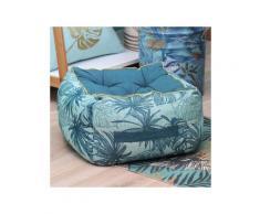 Cuscino da pavimento maxi spessore (H 30 cm) Longbeach Blu