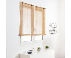 Tenda a rullo in legno (60 x H130 cm) Bambù Beige
