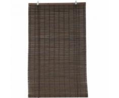 Tenda a rullo in legno (40 x H130 cm) Bambù Cioccolato