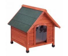 Set Cuccia per cani Spike Comfort e Isolamento - L 76 x P 72 x H 76 cm