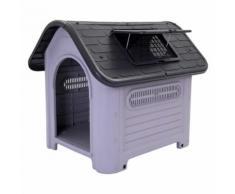 Cuccia in plastica per cani Polly - L 60 x P 74 x H 66 cm