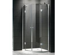 Box doccia semicircolare lusso - 8 mm di spessore vetro