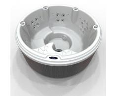 Vasca idromassaggio minipiscina SPA rotonda da esterni ed interni 4/5 posti