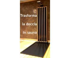 Pannello sauna infrarossi per doccia ESCLUSIVA DI VIRTUALBAZAR, OFFERTA PREZZO DI LANCIO