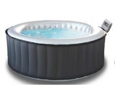 Piscina idromassaggio gonfiabile rotonda da esterno 6 posti dimetro 204 cm modello 2017