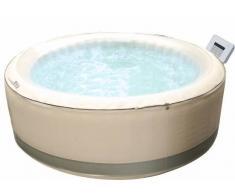 Piscina idromassaggio gonfiabile rotonda da esterno 6 posti diametro 204 cm modello 2017