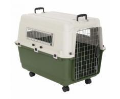 Set Trasportino Feria + Coperta per cani Vetbed® Isobed SL Paw - Misura Trasportino 6 (L) + Coperta L 100 x P 75 cm