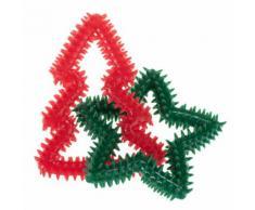 Gioco per cani Albero di Natale e Stella - Set %: 2 pz